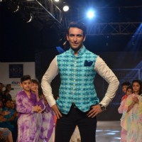 Nandish Singh Sandhu at Kids Fashion Week