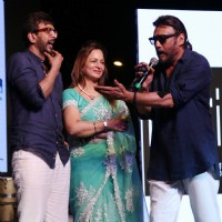 Javed Jaffrey and Jackie Shroff at World Enviroment Day Organised by Bhamla Foundation