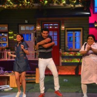 Randeep Hooda, Kajal Aggarwal & Kiku Sharda'Do Lafzon Ki Kahani' Team at 'The Kapil Sharma Show'
