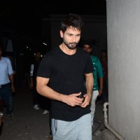Shahid Kapoor Snapped at Mehboob Studio