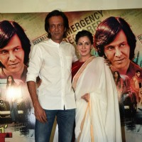 Kay Kay Menon and Kirti Kulhari at Trailer Launch of Movie San' Pachattar