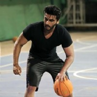 Arjun Kapoor practices basketball for his upcoming movie Half Girlfriend