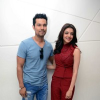 Kajal Aggarwal and Randeep Hooda at Promotions of 'Do Lafzon Ki Kahani'