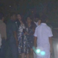 Aishwarya Rai Bachchan meets Abhishek and leaves for Dinner!