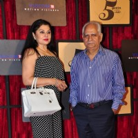 Ramesh Sippy with wife Kiran Juneja at Viacom 18 Bash