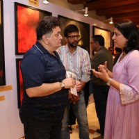 In Conversation: Rishi Kapoor and Priya Dutt at Nargis Dutt Foundation's Art Event