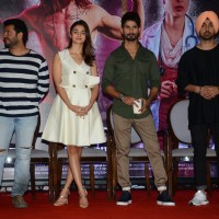 Alia Bhatt, Shahid Kapoor and Diljit Dosanjh at Press Meet of 'Udta Punjab'