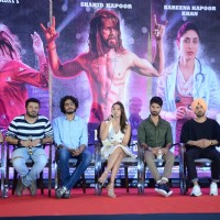Ekta Kapoor, Alia Bhatt, Shahid Kapoor & Diljit Dosanjh at Press Meet of 'Udta Punjab'