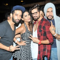 Ashish Sharmaa, Vishal Singh and Suyyash Rai at Sana Khan's Birthday Bash!