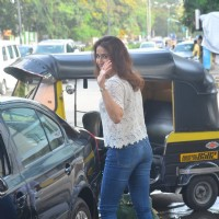 Sagarika Ghatge Snapped outside Spa in Mumbai!