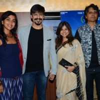 Vivek Oberoi with wife Priyanka, filmmaker and costume designer Elahe Hiptoola and  Nagesh Kukunoor