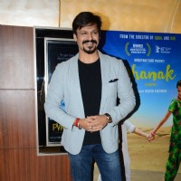 Vivek Oberoi with at Special Screening of 'Dhanak'