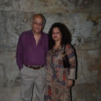 Mukesh Bhatt at Special Screening of 'Udta Punjab'