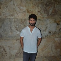 Shahid Kapoor at Special Screening of 'Udta Punjab'