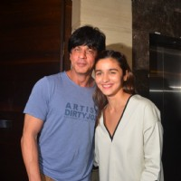Shah Rukh Khan and Alia Bhatt at Special Screening of 'Udta Punjab'