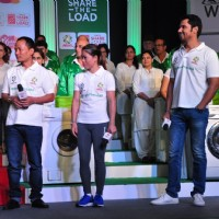 Mary Kom and Randeep Hooda Promotes 'Ariel' Detergent