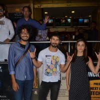 Alia Bhatt & Shahid Kapoor Comes to Watch Audience's Reaction for Udta Punjab at PVR Theatre