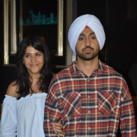Ekta Kapoor & Diljit Dosanjh Vists PVR Theatre to Watch Audience's Reaction for Udta Punjab