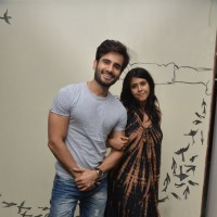 Karan Tacker & Ekta Kapoor at Vandana Sajnani Khattar's 50th Play