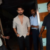 Shahid Kapoor at Success Bash of 'UDTA PUNJAB'