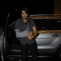 Manish Paul Snapped at Airport