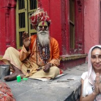 Gaia Mother Sofia Hayat on a Spiritual Trip to Varanasi