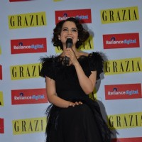 Kangana Ranaut at 'GRAZIA' Cover Launch
