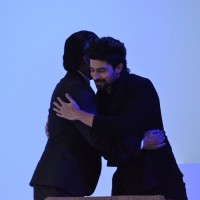 Shah Rukh Khan and Hussain Kuwajerwala at D'Decor Event