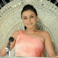 Rani Mukherjee as a judge