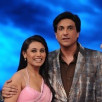 Rani Mukherjee and Shiamak Davar as a judge