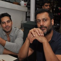 Dino Morea with Abhishek Kapoor at Launch of Mirabella Bar & Kitchen!