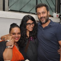 Abhishek Kapoor with Shanoo Sharma at Launch of Mirabella Bar & Kitchen!
