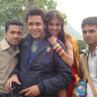 Lali and Shekhar in Nepal