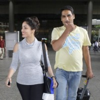 Yami Gautam spotted at Airport