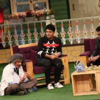 A R Rahman on the sets of The Kapil Sharma Show