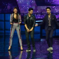 Varun, Jacqueline with Raghav on Dance Plus for Dishoom Promotions!