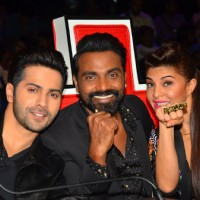 Varun and Jacqueline for Promotion of 'Dishoom' on 'Dance Plus Season 2'