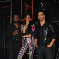 Varun and Jacqueline with Remo for Promotion of 'Dishoom' on 'Dance Plus Season 2'