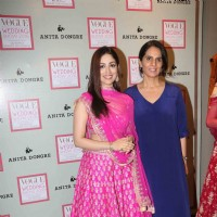 Anita Dongre and Yami Gautam at Vogue Wedding Show 2016