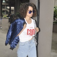 Kangana Ranaut spotted at airport!