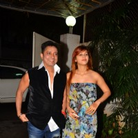 "Singer Sukhwinder Singh at Special screening of the film ""Madaari"""