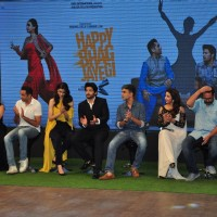 Cast at Trailer launch of 'Happy Bhaag Jayegi' Team at Kapil Sharma Show