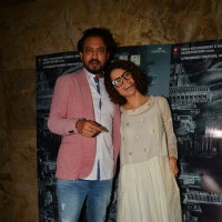 Kangana Ranaut and Irrfan Khan at the special screening of Madaari