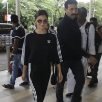 Alia Bhatt snapped at airport