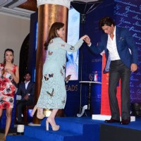 Nita Ambani and Shah Rukh Khan at Launch of Gunjan Jain's Book 'She Walks She Leads'