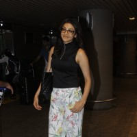 Kajal Aggarwal snapped at airport