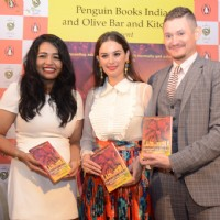 Evelyn Sharma at book launch