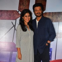 Anil Kapoor and Sakshi Tanwar at Special Screening of film '24 Season 2'