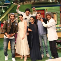 Ali Fazal, Diana Penty and Abhay Deol on The Kapil Sharma Show for Promotions fo Happy Bhag Jayegi