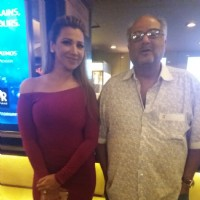 Ritu Shivpuri with Boney Kapoor at Special Screening of film '24 Season 2'